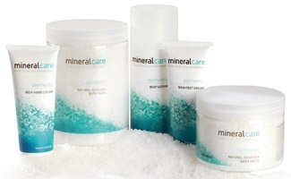 Mineral Care Elements - Pures Badesalz vom Toten Meer
