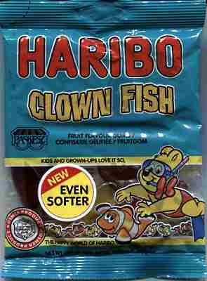 HARIBO - Clown-Fische (koscher AT)