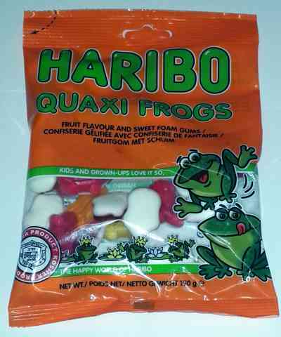 HARIBO - Quaxi Frogs (Mini Frösche) (koscher AT)
